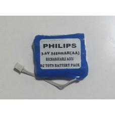 Oyuncak Pili Bataryası 3.6V 2450 mAH 3*[AA] Philips