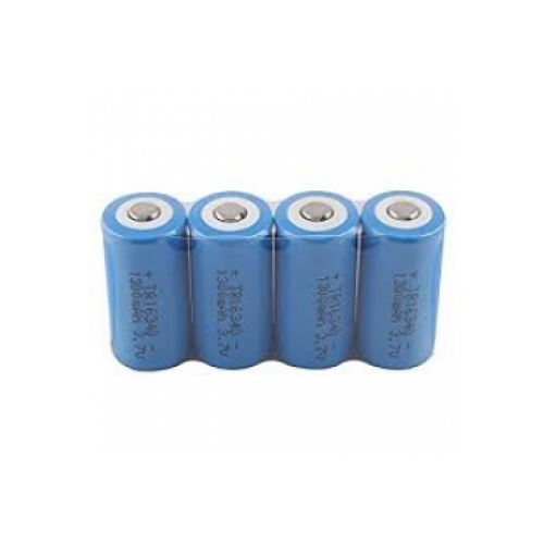 Lityum Battery 3.7V 1200 mAh Rechargeable Swat